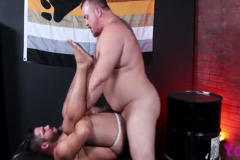 Lanz Adams & Hunter Scott: beefy & giant