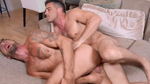 Lance & Wesley: bare - Lance Hart with Wesley Woods American nail
