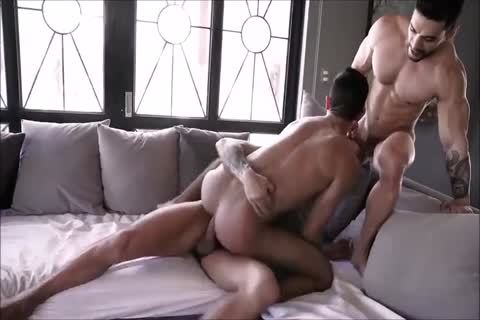 bewitching Spanish raw Three-some With Daddies And bewitching Hunky Son