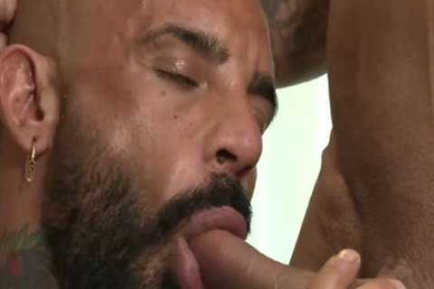 attractive Muscled Daddy pounds lad