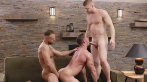 IconMale - Uncle Logan Stevens pounded by huge dick Skyy Knox