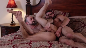 Icon Male - Roommate Ricky Larkin has a taste for gagging