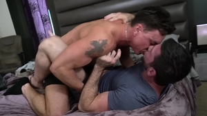 IconMale - Gay Billy Santoro agrees to hard slamming in HD