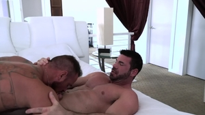 IconMale: DILF Michael Roman likes rough nailing in HD