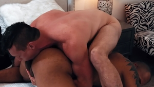 NoirMale.com: Jock Jason Vario plowed by ebony Pierce Paris