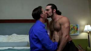 IconMale.com: Tony Salerno blowjob cum in office