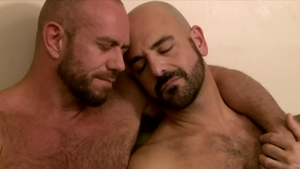 IconMale.com - DILF Adam Russo and hairy Matt Stevens rimjob