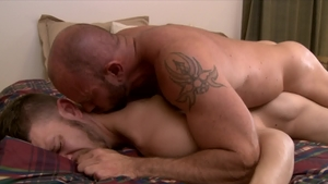Icon Male - Muscled Matt Stevens pounded by huge penis daddy