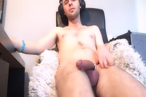 concupiscent twink With butthole-Balls Getting cum Explosion Via Live cam