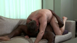 Extra Big Dicks: Gay Aaron Trainer rough receiving facial