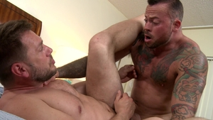 Men Over 30 - Gay Hans Berlin nailed by european Sean Duran