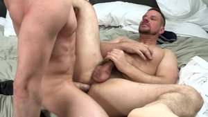Dylan Lucas: Athletic Jack Hunter brunette rimming sex scene