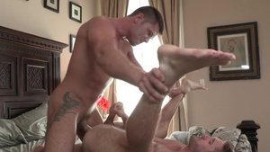Falcon Studios: Tyler Roberts with Wesley Woods rimming