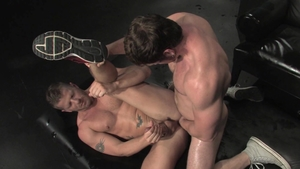 RagingStallion.com - Jeremy Stevens swallow